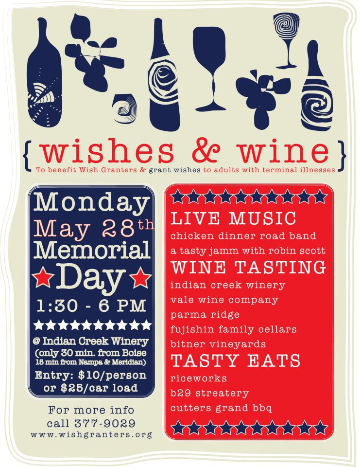 Wishes & Wine - Indian Creek Winery @ Indian Creek Winery | Kuna | Idaho | United States