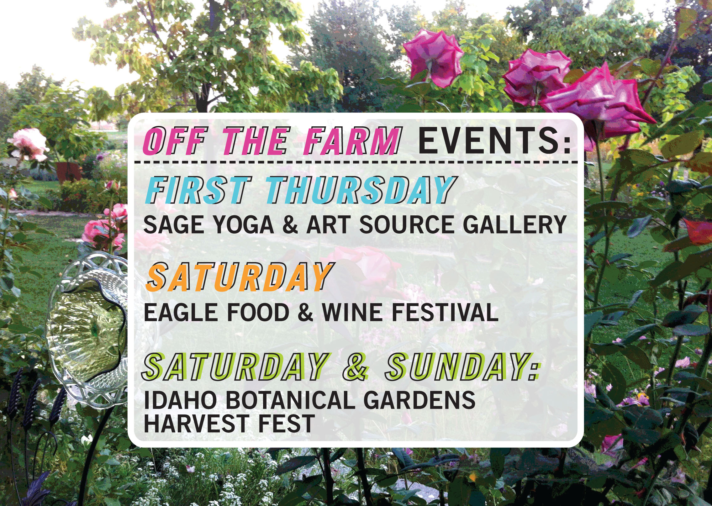 Idaho Botanical Garden Events Garden Ftempo