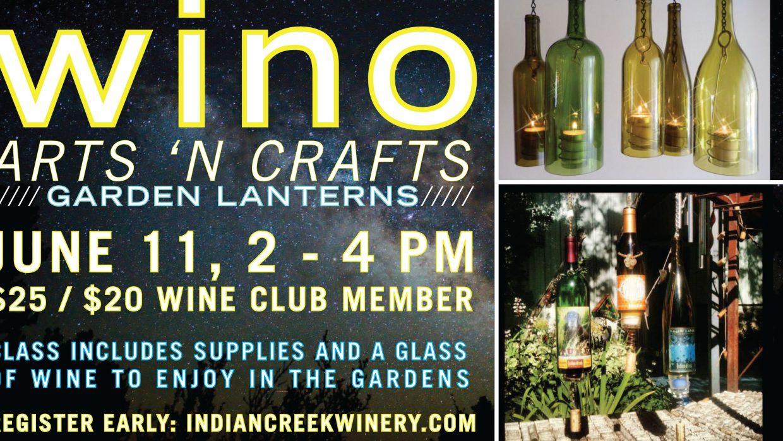 Wino Arts 'n Crafts June!