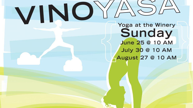 Vino-yasa: Yoga at the Winery